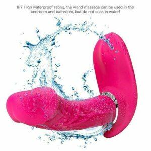 Uymyzk Jouets de Massage de Papillon Portables – Vitesse Multiple – Télécommande sans Fil – Silenent Soft Sacre-Convivial – Relaxation à l'épaule au Dos