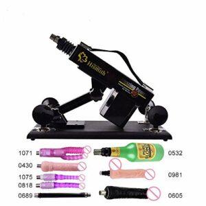 Uymyzk Outil de Massage Automatique poussant la Machine Adulte avec attachements