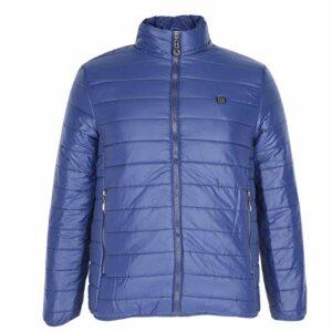 Vestes chauffantes électriques durables Manteau chauffant portable intelligent pour la santé pour apporter plus de confort pour antigel pour adulte(L)