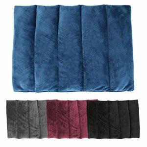 Vivezen ® Bouillotte, coussin chauffant 45 x 30 cm pour le dos ou autres parties du corps – 4 coloris – Norme CE