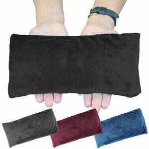 Vivezen ® Bouillotte micro-ondes 10 x 22 cm déhoussable pour toutes parties du corps – 4 coloris – Norme CE