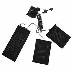 WNSC Chauffage électrique souple résistant à l'usure, roulements chauffants électriques, feuilles chauffantes électriques, pour randonnée, camping.