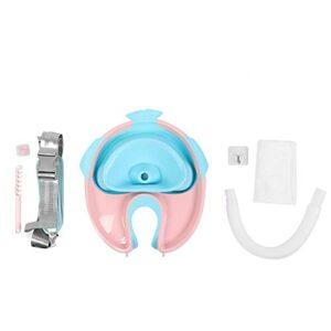 Bassin de shampooing portable, évier de lavage de cheveux avec sangle et tube de drainage amovible pour femmes enceintes et âgées