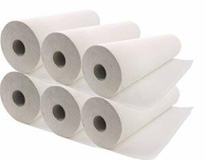 Beltom 6 Rouleaux de Papier X Table DE Massage Drap Housse DE Protection lit esthetique