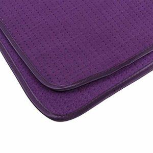 Canapé de massage résistant à l'usure pour tapis de massage pour une meilleure expérience de salon pour la protection du canapé pour le salon de(purple)
