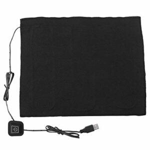 Chauffe-tissu électrique USB, Portable 35 ℃ -50 ℃ Coussin Chauffant USB Réglable à Trois Vitesses de Température, pour le Cou, le Dos, les Abdominaux, le Réchauffeur de la Colonne Lombaire, 20 à 40 Mi