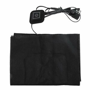 Coussin chauffant électrique rapide Porable 5V 2A USB Coussin chauffant électrique Coussin chauffant léger et durable pour les maux de dos avec chauffe rapidement