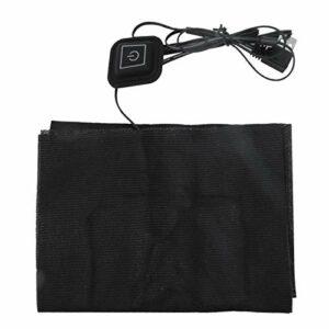 Coussin chauffant léger et sûr pour veste chauffante électrique Porable Chauffe-taille 5V 2A Coussin chauffant USB Durable pour réchauffer l'épaule, le cou
