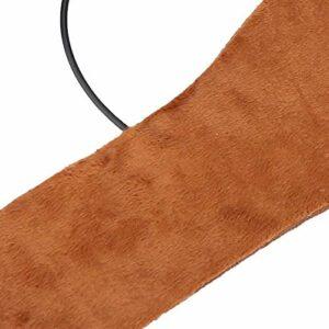 Coussin chauffant pour chaussures Chauffage USB Utilisation recyclée Chauffé pour réchauffer vos chaussures(brown, male)