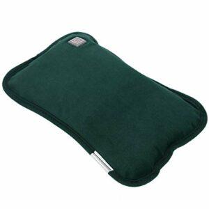Coussin chauffant pour les mains – Longue durée – Pour un usage quotidien – Pour petite amie et femme – Vert foncé