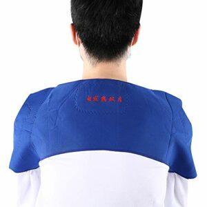 Coussin d'épaule auto-chauffant pour soulager la douleur de l'épaule chaude élastique réglable(68cm x 20cm)