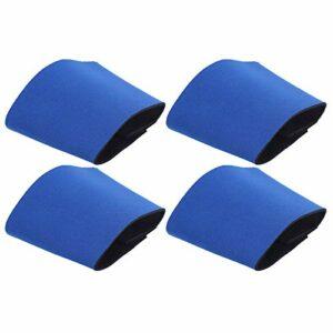 Couvercle de protection de bouteille Lavage léger avec couvercle de bouteille d'eau chaude, pour remplacer le couvercle de gobelet en papier jetable et la serviette(blue)