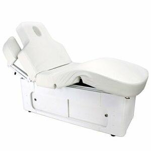 D&S Vertriebs GmbH 003361-3H Table de massage électrique Blanc