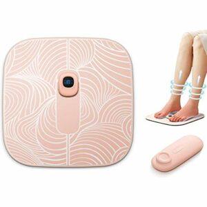 EMS Leg Reshaping Foot Massager Massage des Pieds avec 6 Modes de Massage et 19 intensités réglables