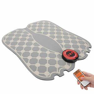 FBK Tapis de Massage pour Pieds EMS Portable et Pliable Massage des Pieds pour améliorer la Circulation Sanguine