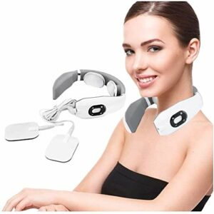 Hancoc Cou massage, massage du cou Pulse magnétique électrique, multifonction cou Massager, avec chauffage Fonction, Technologie Montage 3D, le cou et l'épaule soulagement de la douleur, for la voitur