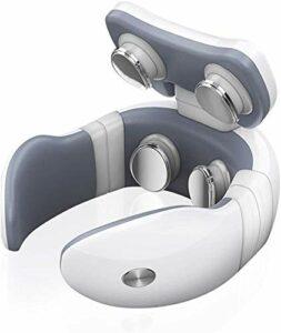 Hancoc Massage du Cou | Corps Massager Cou avec Chaleur Cou Massager-Multiples méthodes de Massage à Distance de contrôle de précision Apaisant Interface USB Portable Rechargeable