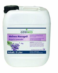 Huile de massage de bien-être Amyris de lavande de cosiMed