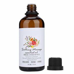 Huile essentielle de rose, huile essentielle pratique pratique, pour les épaules en arrière