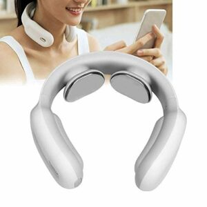 LG Snow Massage du Cou Intelligent, télécommande Intelligente col de l'utérus de Massage, Chauffage Massage du Cou Vitesses Muscle Soulagement de la Douleur