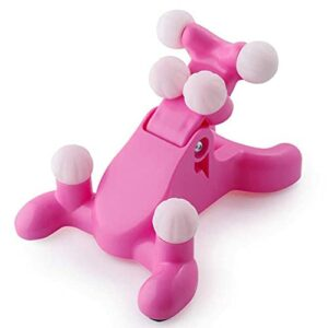LZZB Oreiller de Massage de Traction du Cou Cervical ABC, Masseur de Cou 3D de Soutien de la collerette, soulagement de la Douleur de Relaxation étirement du Dos Relax Masseur de Cou