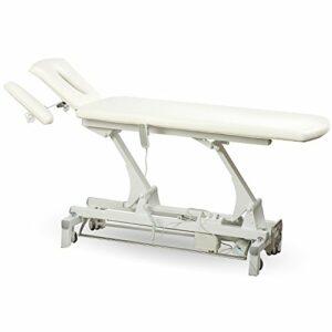Massage physiothérapie Traitement Massage behandlungsliege pratique Wellness Studio Salon Spa Thérapie électrique wellnessliege massagebank Hôtel Tatoo 00s807Blanc