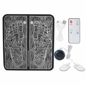 Masseur de pied EMS, coussin de massage des pieds à impulsion masseur de pied de soulagement de la fatigue musculaire, coussin de massage stimulateur musculaire télécommande façonnant le coussin de ja