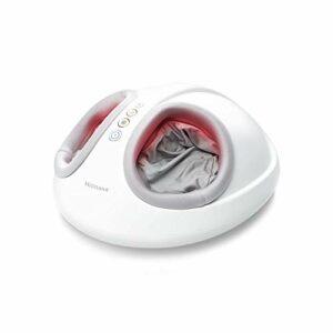 Medisana FM 888 Masseur de pieds Shiatsu, électrique, fonction lumière rouge, fonction chauffage, 2 vitesses, massage Shiatsu et de compression pour les pieds et la plante du pied