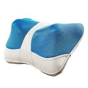 MRSGG Home Home Dual-User Récol à l'épaule à l'épaule d'épaule de Massage Oreiller avec Chaleur, Coussin de Massage à Maille élastique Confortable