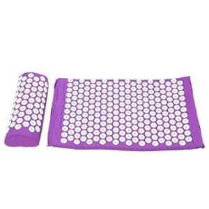 Qqmora Sangle de Massage Coussin de Massage Confortable pour améliorer la rigidité du Corps pour favoriser la Circulation Sanguine(Purple)