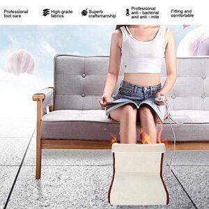 Réchauffeur de pied électrique, chauffe-pied électrique de chauffe-pied de beauté de santé pour l'athlète pour le salon de beauté(European regulations, Transl)