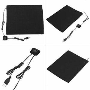 SHYEKYO Chauffe-Tissu USB 35 ℃ -50 ℃ / 95 ℉ -122 ℉ élément Chauffant Coussin Chauffant électrique pour Chauffage Lombaire Chauffe-Animaux