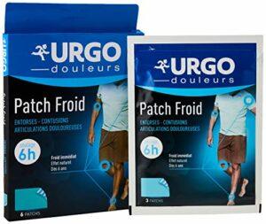 Urgo – Patch Froid Adhésif – Effet froid immédiat – Douleurs articulaires et musculaires – 6 patchs