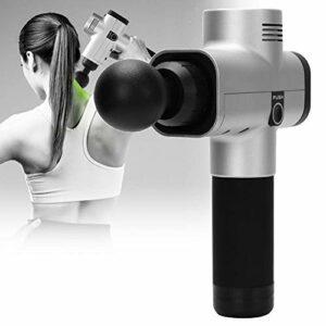 Uxsiya Deep Tissue Pistolet de massage manuel réglable pour massage du corps pour soulager les douleurs musculaires