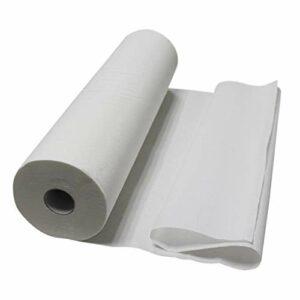 Vivezen ® Lot de 1, 4 ou 9 draps d'examen blanc 50, 60, 70 ou 84 cm – 34g/m2 double épaisseur gaufré 100% pure ouate – 84 cm x 1 – Norme CE