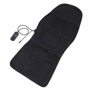 YGTFMASK Massagestühle & Sitzauflagen,8 Modi Elektrische Massagematte,Mit Heizkissen 3 Geschwindigkeitsanpassung,Für Auto Und Home Rückenschmerzlinderung