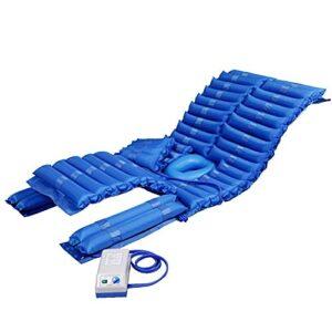 Yongqin L'Airbag Amovible De Matelas d'air Anti-Décubitus Gonflable De Matelas De Pression avec Le Trou De Toilette Peut Retourner L'Ulcère De Patient Âgé À La Maison Et Les Soins Douloureux