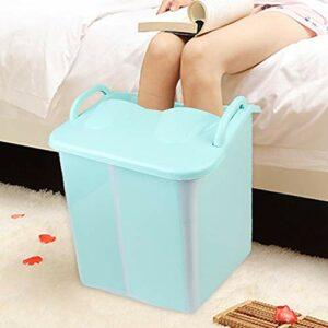 Baignoire pliable pour bébé – Baignoire durable – Massage des pieds – Pour adultes et enfants – Bain de pieds vert