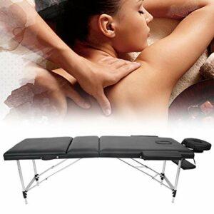 Cerlingwee Lit de Massage, Portable Facile à Utiliser à économie d'énergie pour la Maison