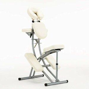 Chaise de massage de maison de rénovation Chaise de tatouage de massage de beauté pliante portative équipement de massage professionnel angle de hauteur réglable Convient pour le massage de traitement