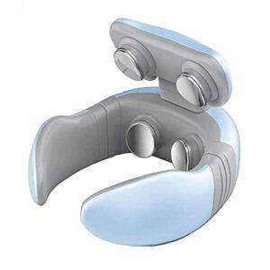 colonne vertébrale machine de chauffage par le cou de l'épaule de massage électrique analgésique cervical massage bleu-outil
