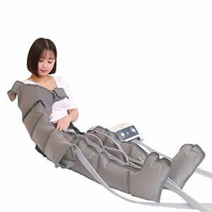 Compression d'air Électrique, Masseur De Pieds Taille Jambe Bras Masseur De Pression d'air Machines De Massage Lymphatique avec 6 Coussins d'air