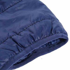 Contrôle intelligent de la température 5 secondes de chauffage rapide manteau chauffant intelligent, gilet chauffant, alimentation 5 V à Performance Stable pour les hommes hiver(XXXL)