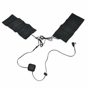 Coussin chauffant électrique portatif durable, coussin chauffant à la taille, 5 V USB pour réchauffer l'épaule et le cou