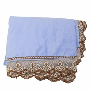 Couverture de Table de Massage Professionnelle Couverture de Lit de Massage avec Trou Drap de Lit de Beauté Spa pour Salon de Beauté Couverture de Protection pour Tables de Massage(bleu)