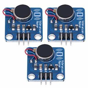 DC5V 9000 tr/min moteur de choc module de vibration cc module de vibration 3 pièces pour projets de bricolage de module Arduino