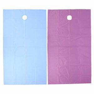 Draps de couverture de table, couverture de table de massage, drap de lit de salon de beauté SPA respirant avec le type de trou de visage imperméable à l'eau Absorption d'humidité 200x115cm(#3)