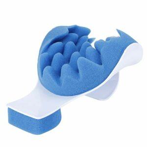 Eulbevoli Oreiller de Soutien du Cou, Oreiller de Massage Relaxation Profonde Durable pour Les douleurs au Cou