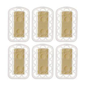 EXCEART 6 Pièces Sublimation Désodorisant Feuilles Parfumées Sachets Vêtements Parfumé Feuilles pour Tiroir Placard