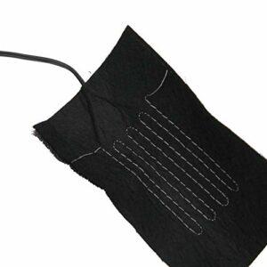 Feuille chauffante électrique à chargement USB, coussin chauffant électrique pour les épaules, protecteurs de taille de chaussures pour gilets de vêtements